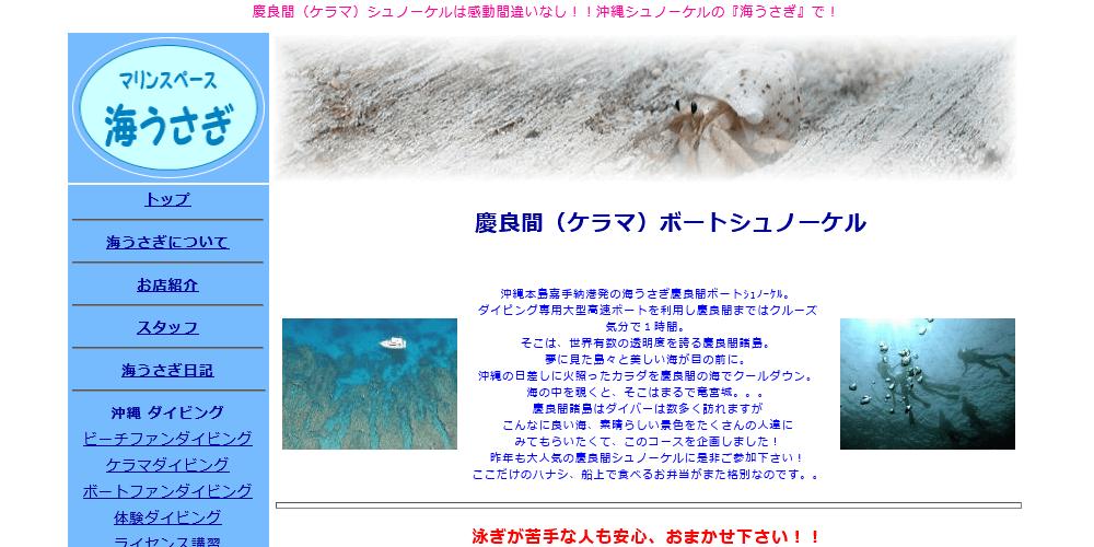 海うさぎの画像